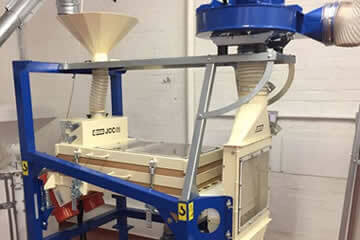 Grain cleaning equipment
