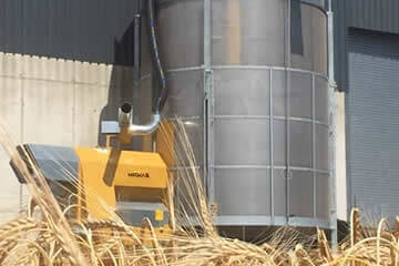 Mobile grain driers