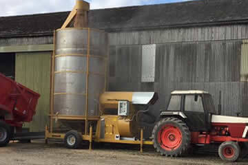 Used mobile grain driers