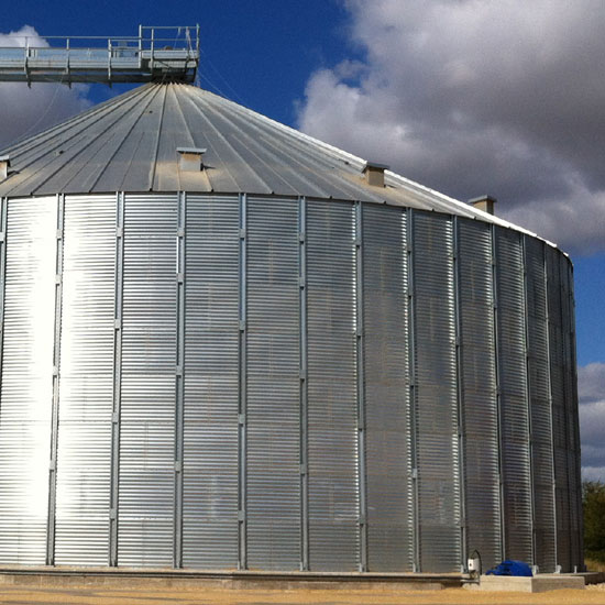 Flat Bottom Silos for sale