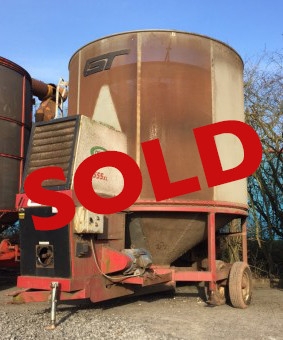 GT Opico 555XL Used Mobile Grain Drier