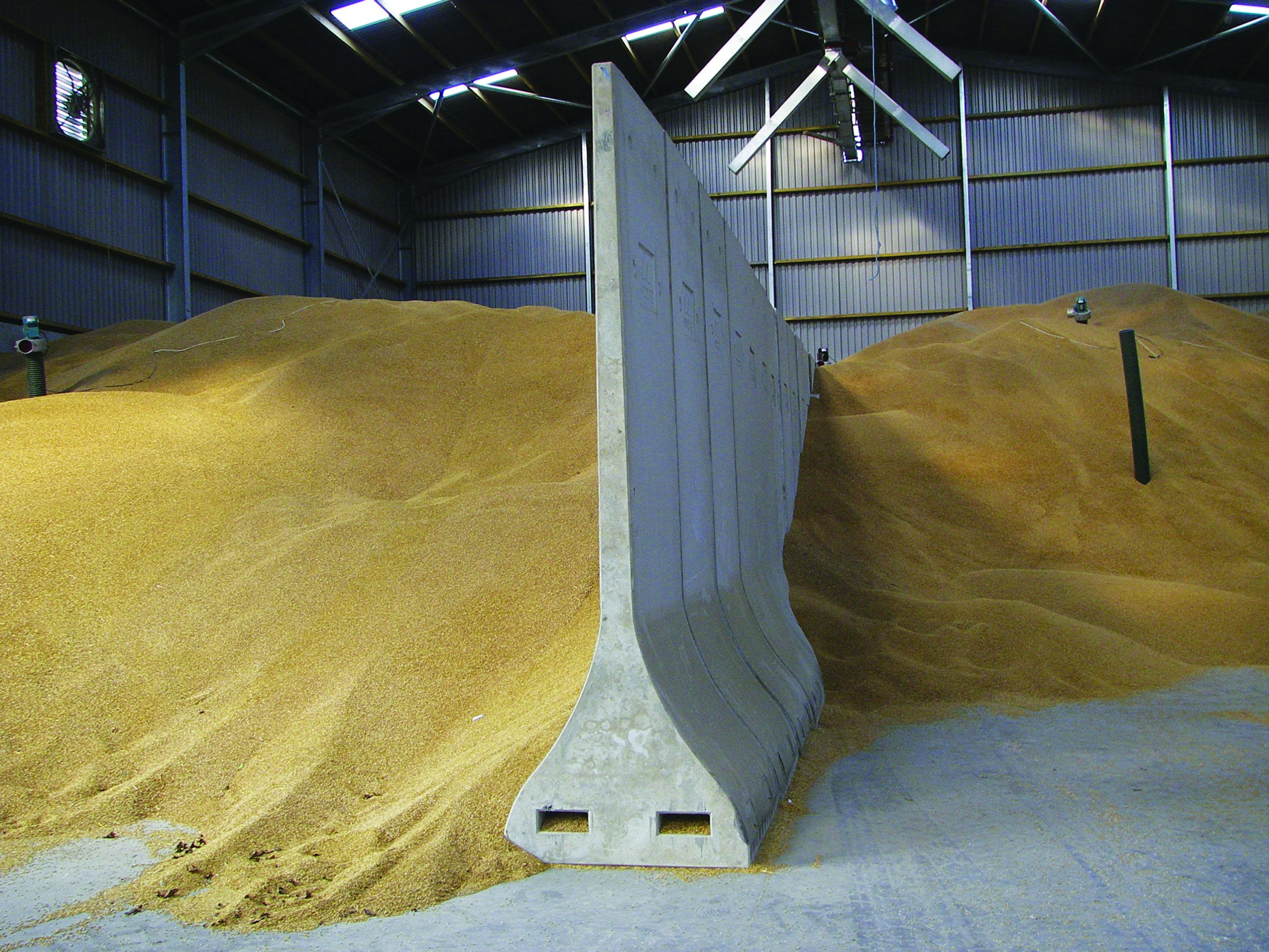 Product Focus Portable Grain Bunker Wall