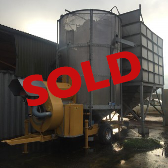 Used Mecmar mobile grain drier