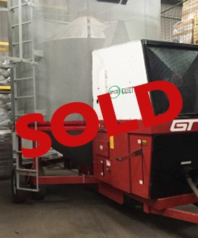 Used GT Opico mobile grain drier