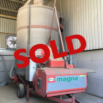Used mobile grain dryer